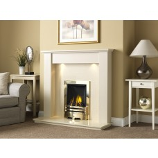 GB Mantels Rothbury Oyster Fireplace Suite