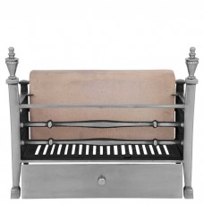 Carron Georgian Cast Iron Fire Basket Full Polished