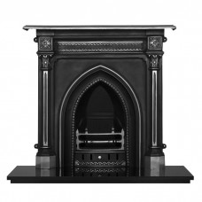 Carron Gothic Combination Cast Iron Fireplace Suite