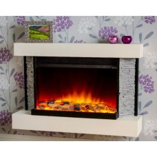 Katell Athena 39'' Wall Mounted Electric Fire