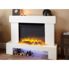 Katell Aurora 43'' Electric Fireplace Suite