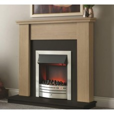 """Katell Grasmere 46"""" Electric Fireplace Suite"""