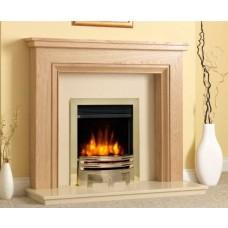 "Katell Henfeild 48"" Oak Fire Surround"