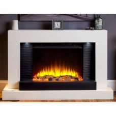Katell Lares 49'' Electric Fireplace Suite
