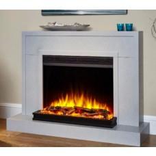 Katell Millennium 42'' Electric Fireplace Suite