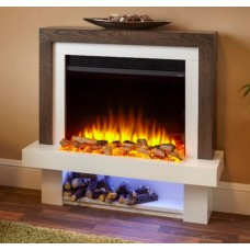 """Katell Perugia 36"""" Electric Fireplace Suite"""