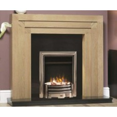 Katell Rothbury 50'' Oak Fire Surround