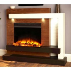 Katell Venus 53'' Electric Fireplace Suite