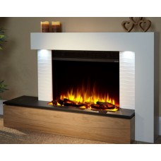 Katell Vesta 53'' Electric Fireplace Suite