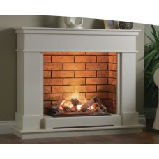 Katell Vittoria 47'' Electric Fireplace Suite