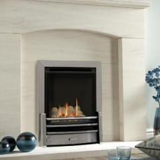 Kinder Nevada Plus HE Silver Gas Fire