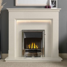 Gallery Langdon Limestone Fireplace Suite 1