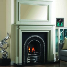 GB Mantels Leith Oak Fireplace Suite