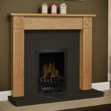 "Be Modern Lewiston 48"" Timber Fireplace Surround"