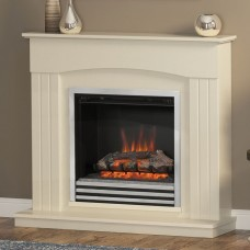 Be Modern Linmere 44'' Electric Fireplace Suite