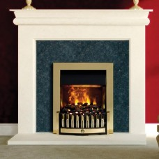 Dimplex Danville Brass Opti-myst® Electric Fire