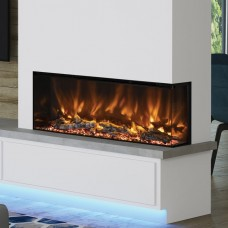 Elgin & Hall Pryzm Arteon 1500-3SL Built-In Electric Fire