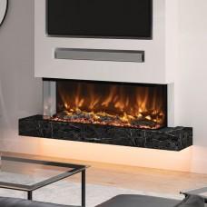 Elgin & Hall Pryzm Arteon 1250-3SL Built-In Electric Fire