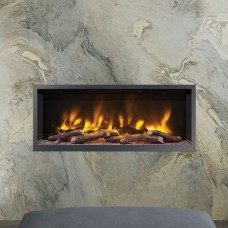 "Elgin & Hall Pryzm 42"" Volta Inset Hole in the Wall Electric Fire"