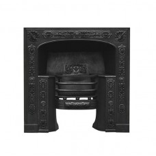 Carron Queensferry Cast Iron Hob Grate Matt Black