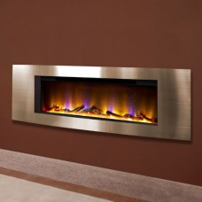 "Celsi Electriflame VR Vichy 40"" Inset Wall-Mounted Electric Fire"