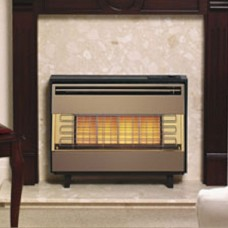 Robinson Willey Firegem Visa Olive Radiant Gas Fire