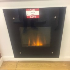 Ex-Display Dimplex Wall Mounted Electric Fire With Heater