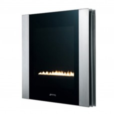 Smeg Linear Portrait Flueless Gas Fire