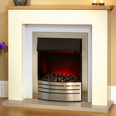Suncrest Bowburn Electric Fireplace Suite