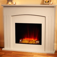 Suncrest Stockburn Electric Fireplace Suite