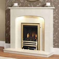 Be Modern Classic Inset Gas Fire with Maisie Fret