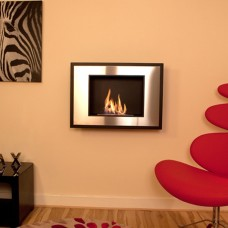 The Naked Flame Art Modern Bio Ethanol Wall Mounted Fire