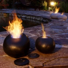 The Naked Flame Pebble Portable Gel Burner