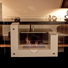 The Naked Flame Rumour Bio Ethanol Freestanding Fire