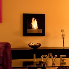 The Naked Flame Simplicity Bio Ethanol Wall Mounted Fire