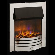 Dimplex Torridon Chrome Optiflame 3D Electric Inset Fire