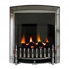 Valor Dream Balanced Flue Chrome Gas Fire