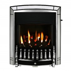Valor Dream Homeflame Chrome Gas Fire