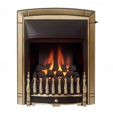 Valor Dream Slimline Convector Gold Plated Gas Fire