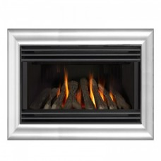 Valor Eminence Homeflame Silver Wall Mounted Gas Fire
