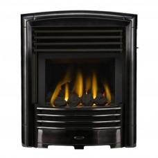 Valor Petrus Homeflame Black Chrome Gas Fire