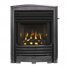Valor Petrus Slimline Homeflame Black Chrome Gas Fire