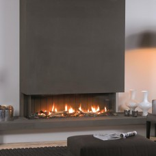 Vision Trimline TL140p Panoramic Trimless Gas Fire