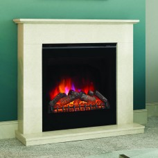 Elgin & Hall Vittoria Manila Micro Marble Fireplace Suite