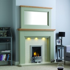 GB Mantels Yateley Oak Fireplace Suite