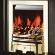 Crystal Fires Gem Open Fronted Inset Gas Fire Brass