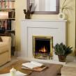 Dimplex Exbury Brass Optiflame® Electric Fire