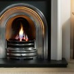 Gallery Asquith Limestone Fireplace Includes Crown Cast Iron Arch 3