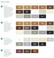 GB Mantels Colour Guide 2017