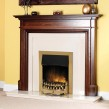 Dimplex Stamford Brass Optiflame® LED Electric Fire
